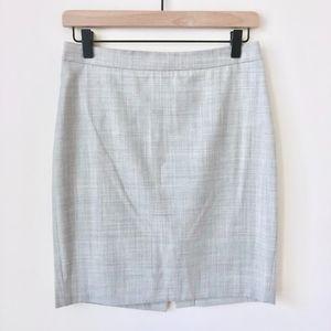 Jcrew Petite No 2 Pencil Skirt